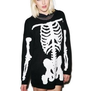 New Iron Fist Wishbone Sweater Size:Small